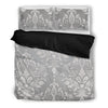 Grey Boho Bed Sheets - BohoHip