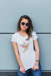 Women's Peace Dove Tee - BohoHip