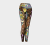 Mandala Swirls Yoga Leggings - BohoHip