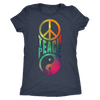 Teach Peace Women's Tee - BohoHip