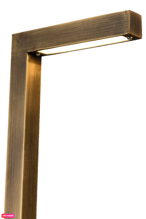 PLB07 - 3W LED Brass Path Light