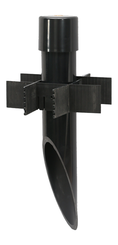 PV51 - PermaPost PVC Post with Cap