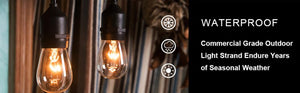 SL101 - Low Voltage Bistro String Lights