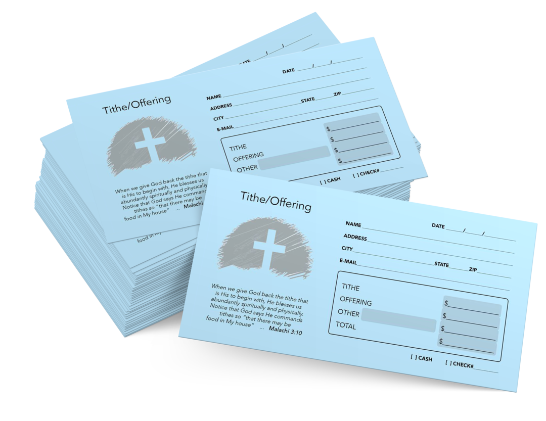 Tithing Envelopes and Offering Envelopes