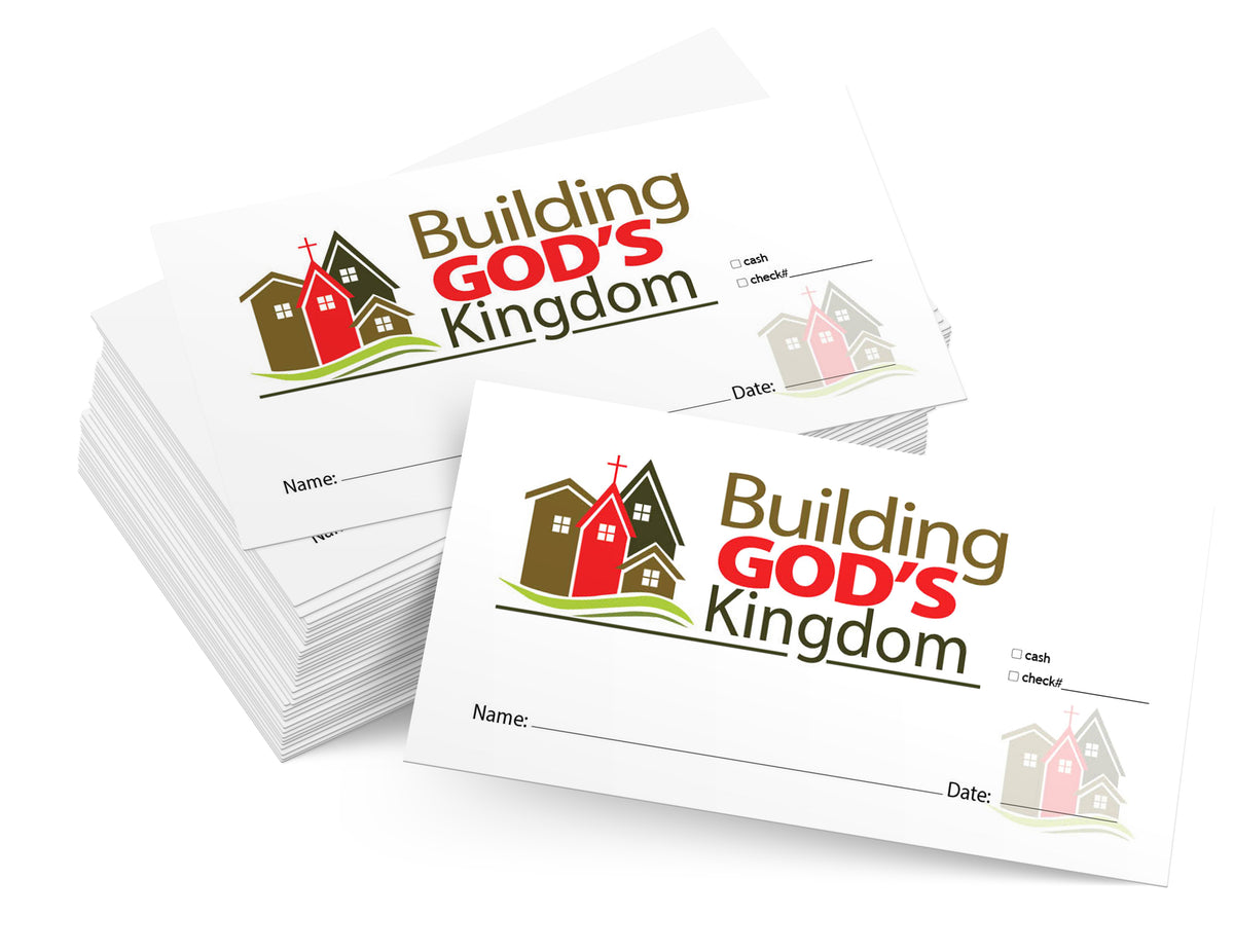 Building Fund Tithing Envelopes