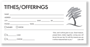 Church Offering Envelope