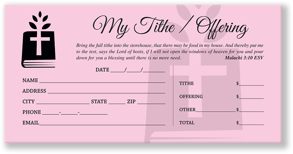 Offering Envelopes for Church   Fast S&H   Great Price