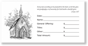 Church Offering Envelopes