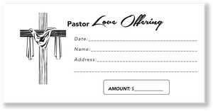 Pastor Love Church Envelope Design