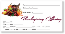 Thanksgiving Tithing Envelopes