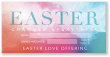 Easter Offering Envelopes