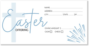 Easter Offering Envelopes for Church