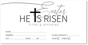 White Easter Offering Envelopes for Church
