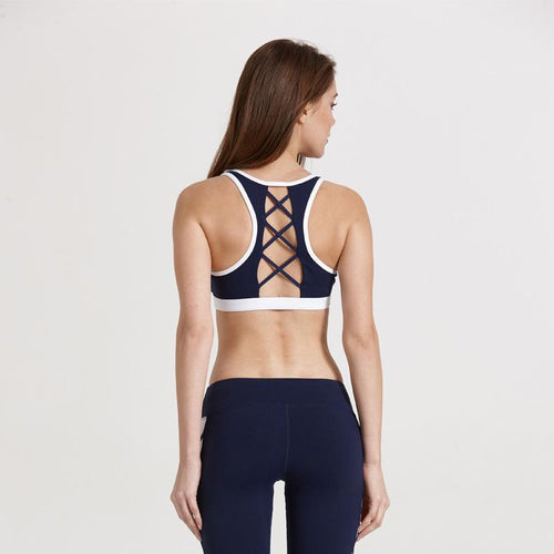 Activewear - Chest Mesh Fitness Tops