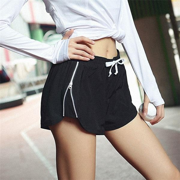 Bottoms - Loose Solid Soft Casual Short