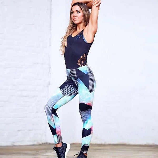 Leggings - Contrast Print Leggings