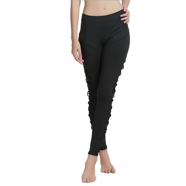 Leggings - Mesh Rope Stirrup Leggings