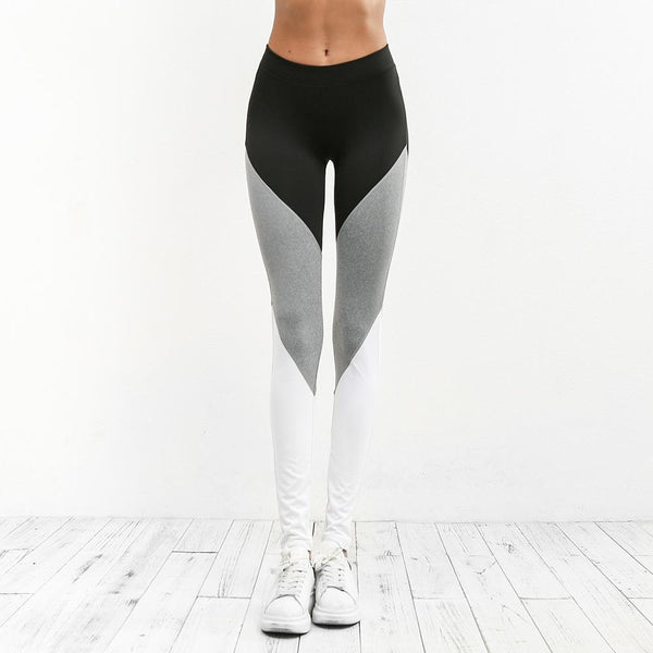 Leggings - Patchwork Seamless Leggings
