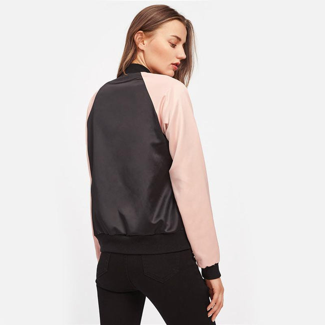 Outerwear - Casual Bomber Jacket