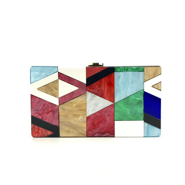 Acrylic Luxury Clutch