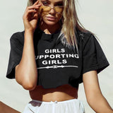 Tops - Fashion Cropped Tee