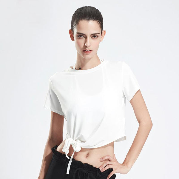 Tops - Simple Bandage T-Shirt