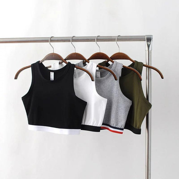 Tops - Simple Fashion Crop Top