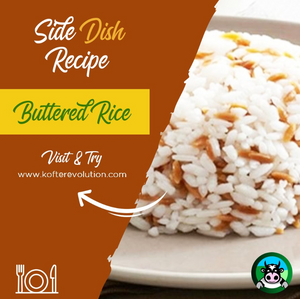 Buttered Rice / White Rice Pilaf Recipe