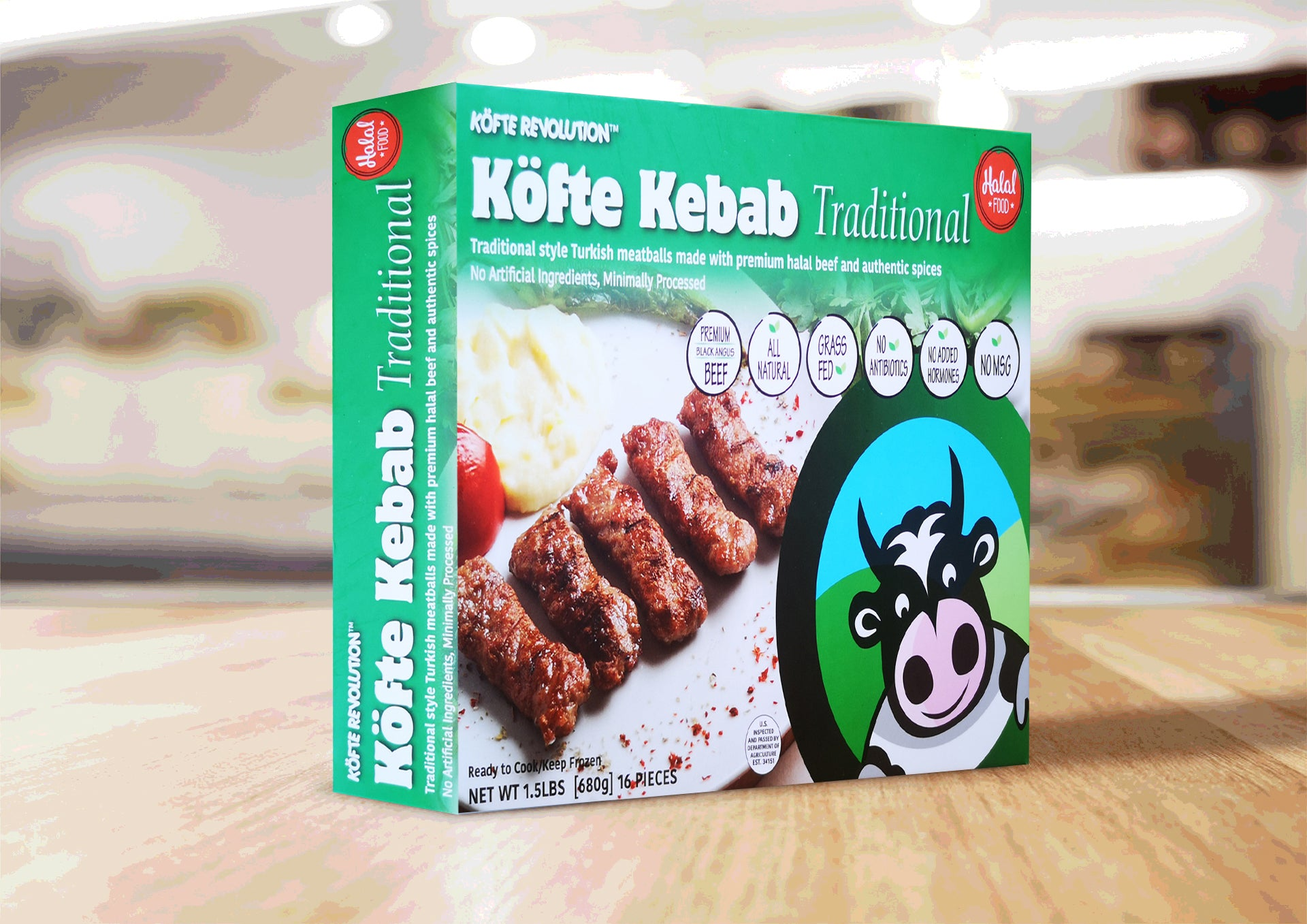 KÖFTE KEBAB Traditional (1.5 lbs)
