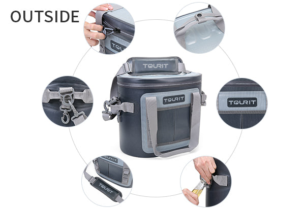 TOURIT Voyager 20 cans soft side cooler