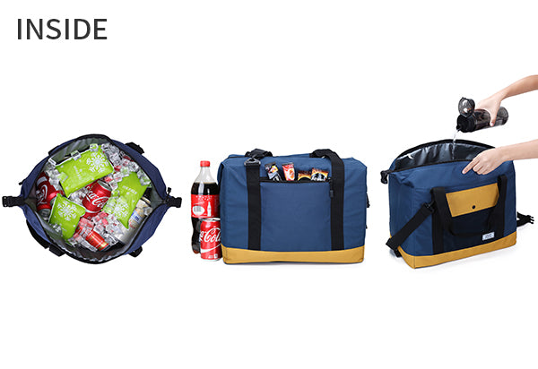 Lightweight waterproof tote & sling soft Cooler