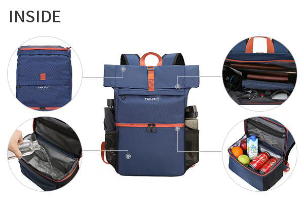 Lightweight waterproof Rucksack Cooler