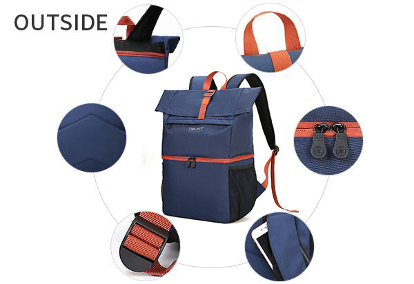 insulated backpack cooler