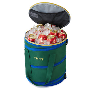 New 32 cans foldable cooler bag