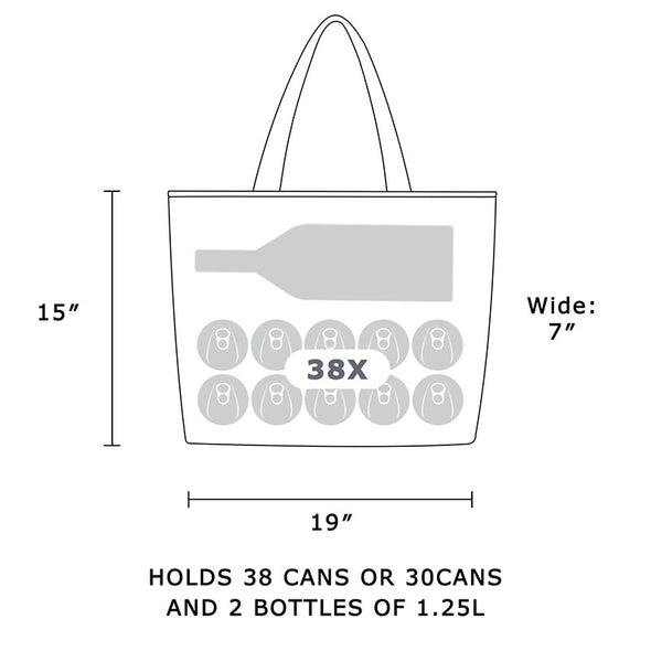 38 Cans Tote