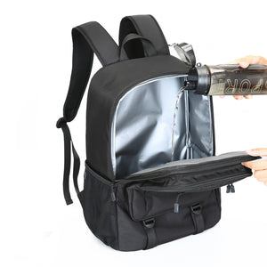 Insulated Backpack Cooler Picnic Bag Leakproof Large Capacity Fishing Hunting Lunch Soft Cooler Unisex