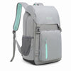 Insulated Cooler Backpack Picnic Cooler Stylish Lightweight Bag for Men Women to Hiking Travel Camping 28 Cans Gray