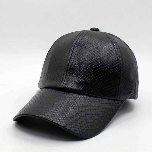 f78cf4960aa Fashion Leather PU Baseball Cap Men Snapback Caps Women Casquette Brand  Bone Winter Hats For Men