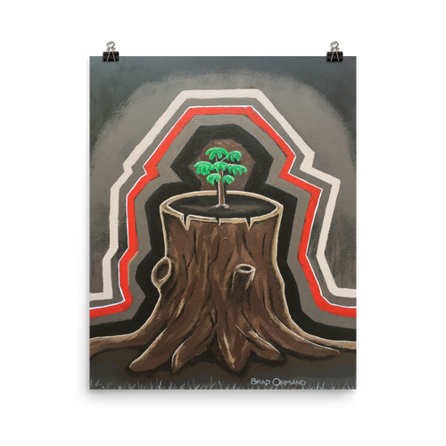 Tree of Life Painting Print