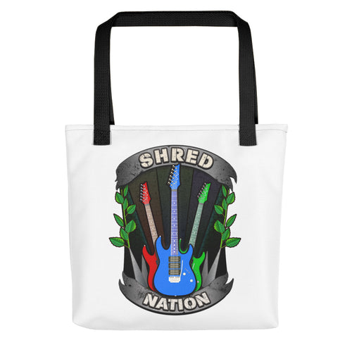 Shred Nation Tote Bag