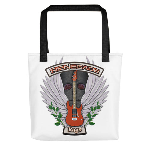 Renegade Rags Guitar and Wings Tote Bag