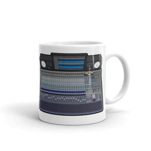 Audio Mixing Console Rig Mug