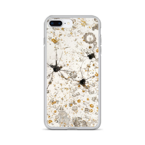 Ripped Cracked Fiberglass Boat Hull with Lichens iPhone Case