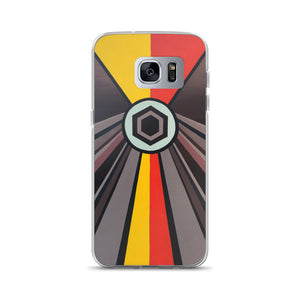 Shining Hex Painting Samsung Phone Case