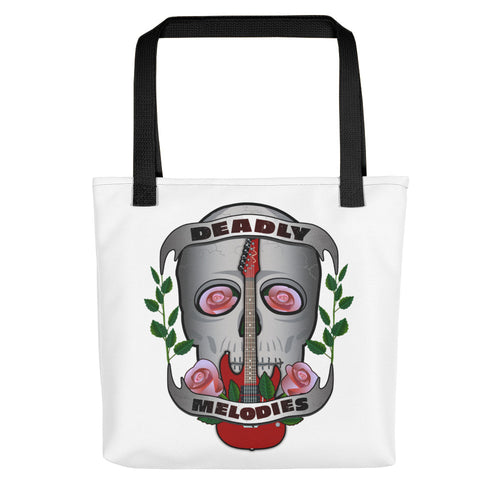 Deadly Melodies Tote bag