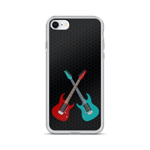 Twin Guitars iPhone Case