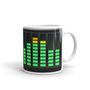 Audio Meters Mug