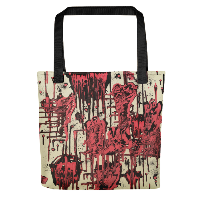 Candy Wax Tote Bag