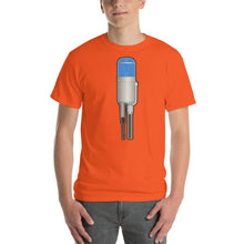 Condenser Mic with Blue Capsule Cover T-Shirt