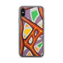 Happy Neuron Painting iPhone Case